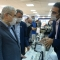 بازدید دکتر ستاری از غرفه ARG Biotech در پارک علم و فناوری آذربایجان شرقی